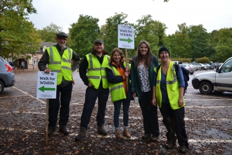 Staff at Walk for Wildlife Event 2017