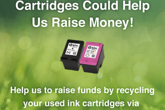 Recycle ink cartridges poster