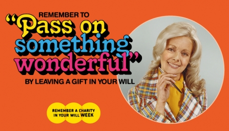 Remember a Charity in your Will Week advert banner